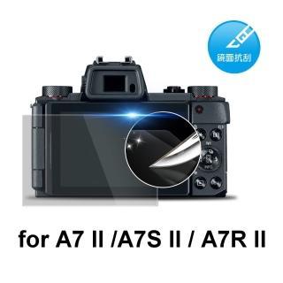 ~D A~Sony A7 II 原膜HC螢幕保護貼^(鏡面抗刮^)