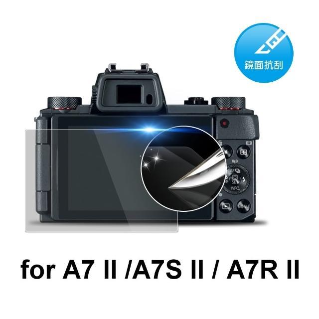 【D&A】Sony A7 II /A7S II / A7R II 日本原膜HC螢幕保護貼(鏡面抗刮)