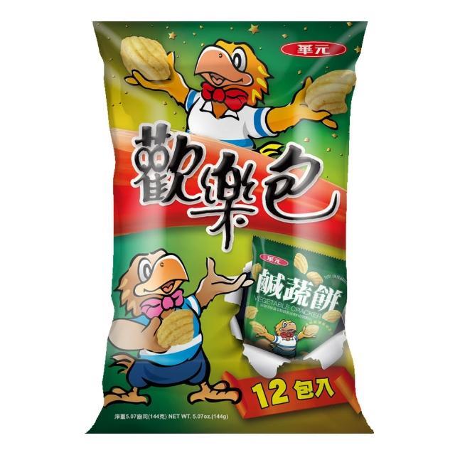 【華元】歡樂包-鹹蔬餅