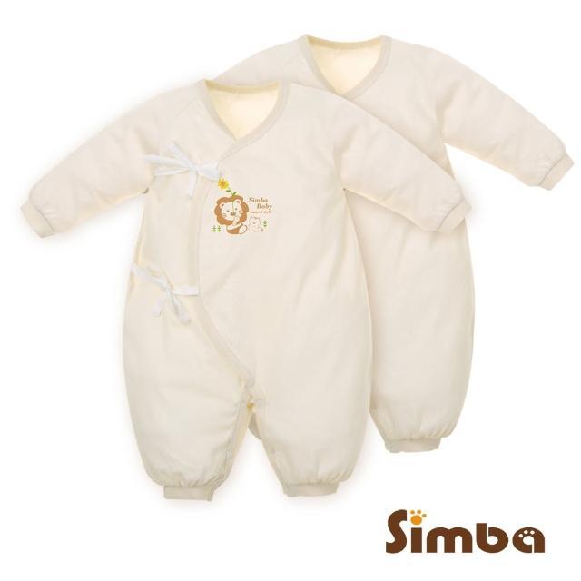 【小獅王辛巴】有機棉七分袖兔裝二件組(60cm)