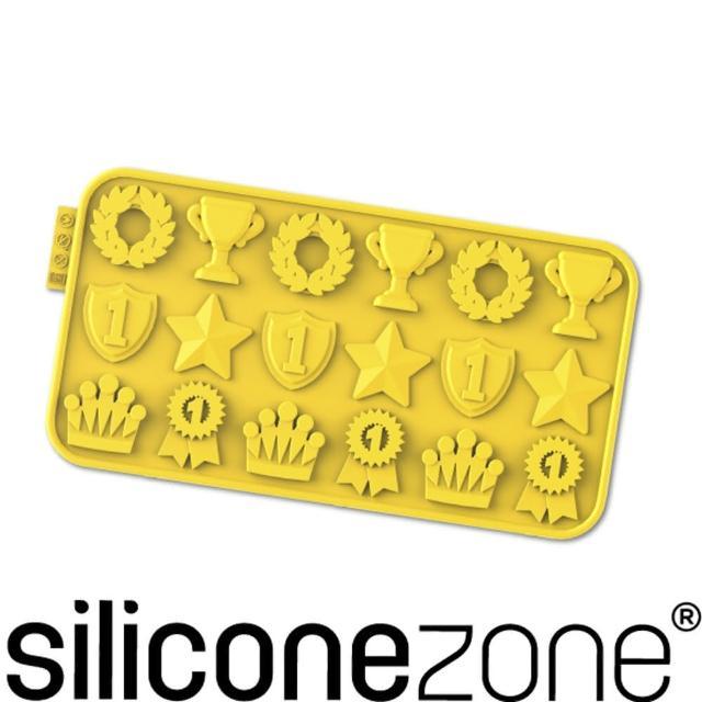 【Siliconezone】施理康耐熱矽膠冠軍巧克力模(黃色)