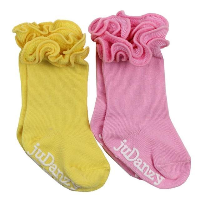 【美國 juDanzy】兩入長襪組_黃/粉紅(923)哪裡買?