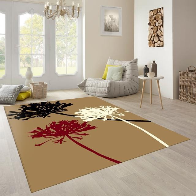 【范登伯格】維多利亞★低調時尚地毯-花朵(共兩色140x200cm)