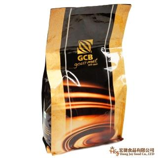 【GCB】63%調溫苦甜鈕扣巧克力 1kg(麵包蛋糕西點烘焙專用)