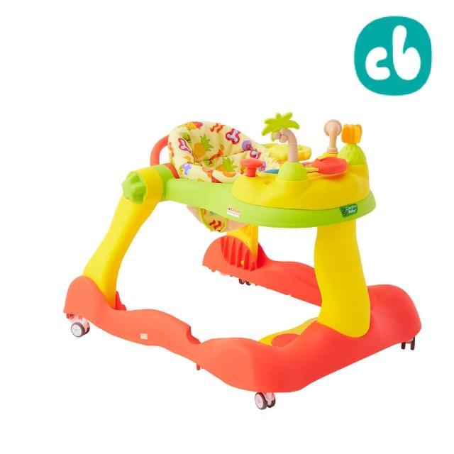 【美國Creative Baby】糖果版- 多功能音樂折疊式三合一學步車/助步車(靜音輪新升級、加裝減速片更安全)