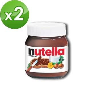 【nutella 能多益】榛果可可醬750g(2入)