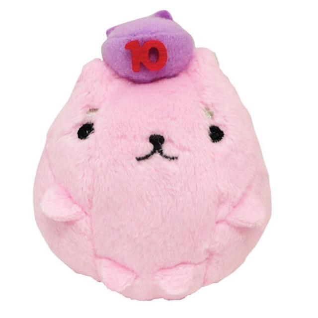 【Kapibarasan】水豚君10周年毛絨掌心公仔(成年岩井)