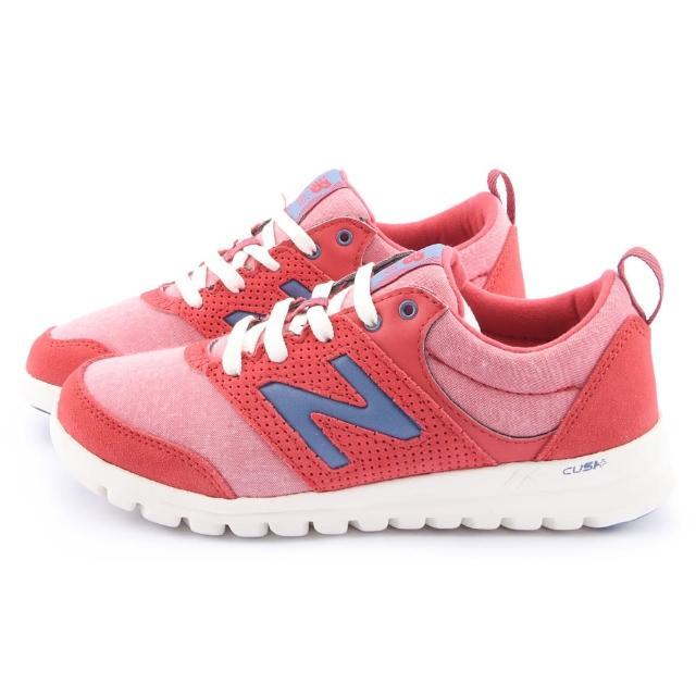 【NewBalance】女款 CUSH轻量弹性运动鞋(WL315SP-红)