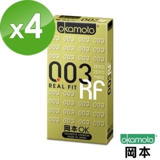 【岡本OK】003 RF極薄貼身保險套(6入X 4盒)