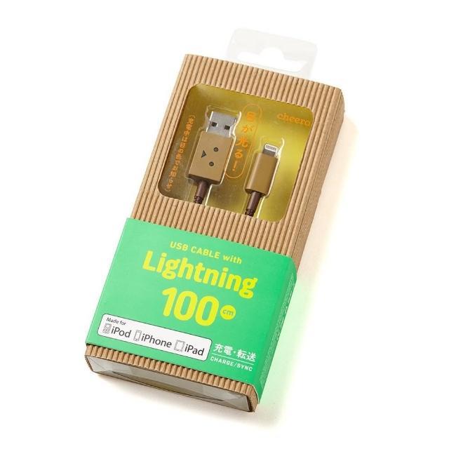 【日本cheero】蘋果認證Apple Lightning USB阿愣充電傳輸線(100公分)