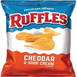 【美國Ruffles波樂】厚切洋芋片-起司(184.2g/包)