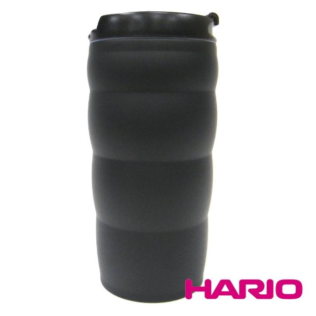 【HARIO】真空不鏽鋼隨行杯 350ml(VUW-35B)