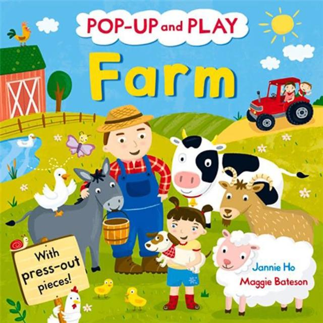【Song Baby】Pop-Up And Play Farm 故事農場(精裝立體書)