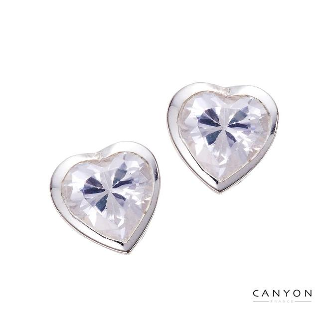 【CANYON】閃亮的心耳環