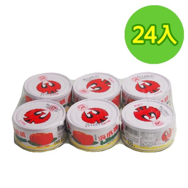 【紅鷹牌】海底雞24入/箱(170gX3入/封)