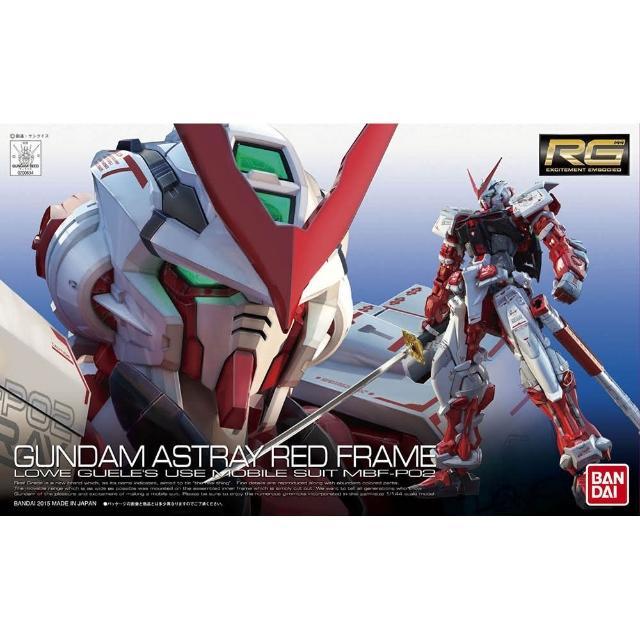 【BANDAI】GUNDAM鋼彈RG 1/144 紅色異端鋼彈19