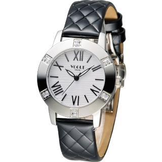 【VOGUE】低調經典時尚腕錶(2V1501-341SD-D)