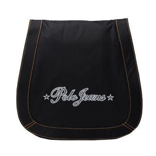 【Ralph Lauren】字母防水布面側背袋(黑 317FLP- BLACK)