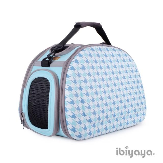 【IBIYAYA依比呀呀】新輕巧摺疊寵物提包-千鳥格(FC1420)