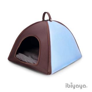 【IBIYAYA依比呀呀】三角寵物窩-XL-藍(FB1206)