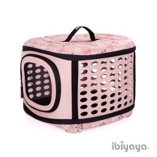 【IBIYAYA依比呀呀】EVA輕巧摺疊寵物提籠-典雅裸(FC1006)