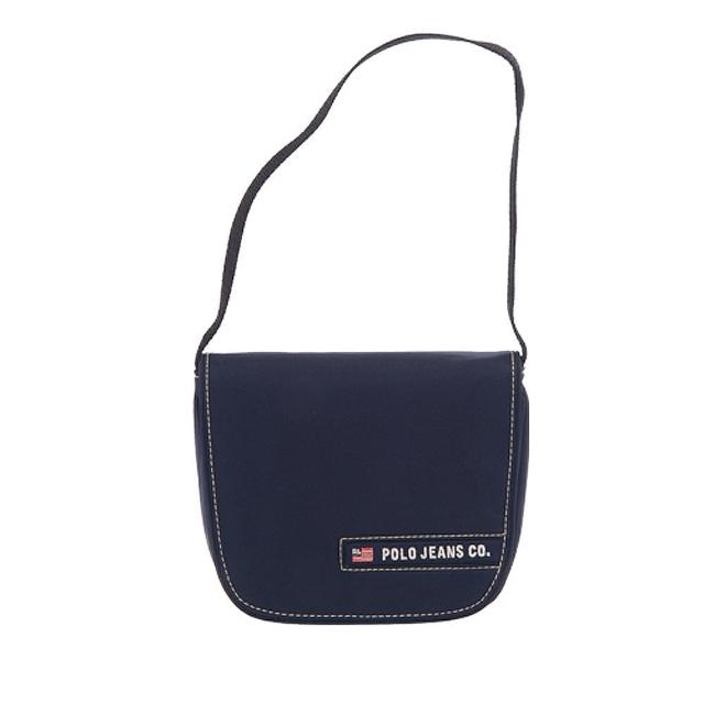 【RL POLO】極簡小巧肩背包(藍310MSB-NAVY)