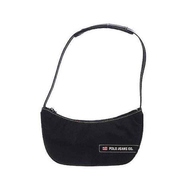 【Ralph Lauren】輕巧時尚肩背包(黑310TEZ BLACK)