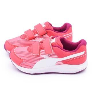 【PUMA】中童 輕量透氣運動鞋(358663-03-粉)