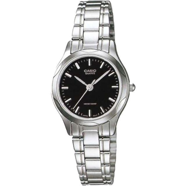 【CASIO 卡西歐】秀麗風格指針女錶(LTP-1275D-1ADF)