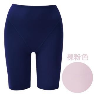 【思薇爾】舒曼曲現系列64-82素面高腰長筒束褲(裸粉色)