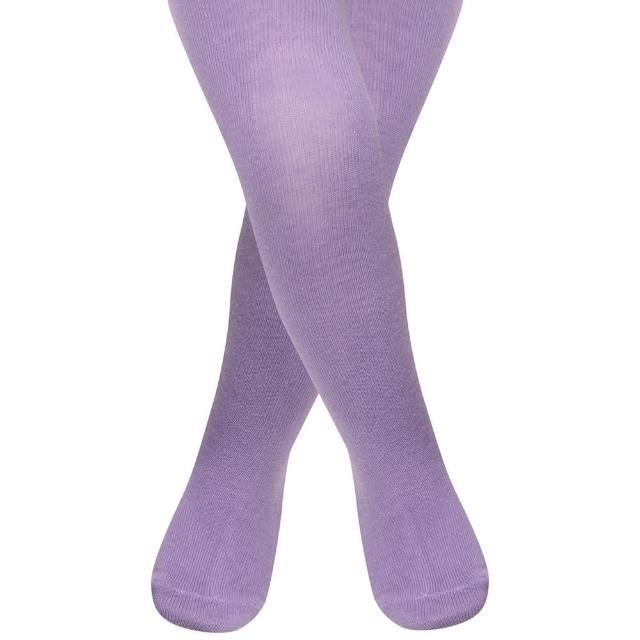 【英國 JoJo Maman BeBe】柔細寶寶兒童內搭褲襪/保暖襪_薰衣草紫(JJT010)