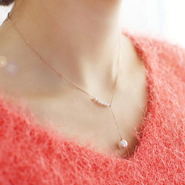 【PS Mall】名媛氣質甜美珍珠項鍊(G1772)