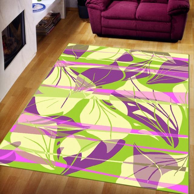 【范登伯格】奧斯汀光澤絲質感地毯-葉燦(140x200cm)