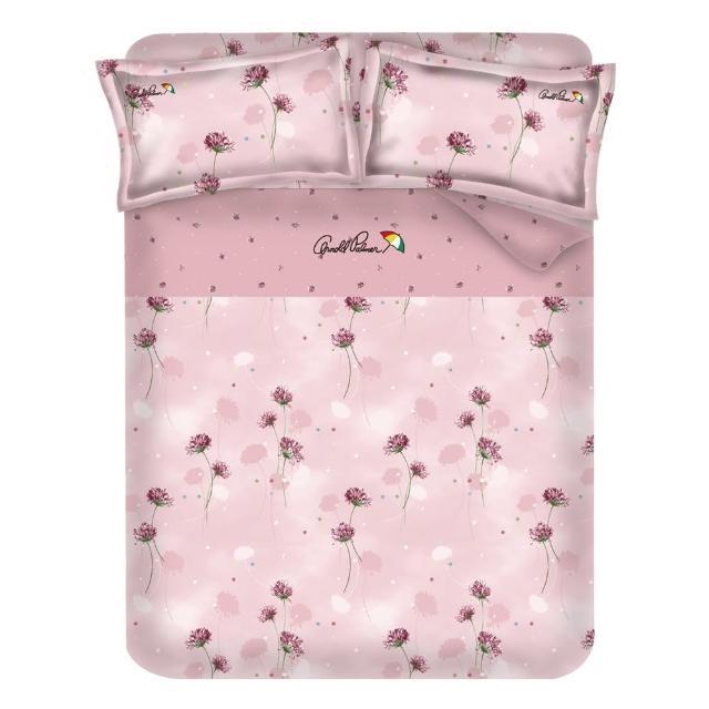 【Arnold Palmer雨傘牌】花與夢境-60紗精梳棉床包被套雙人四件組
