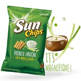 【美國SunChips】多穀類脆片-法式洋蔥(184.2g/包)