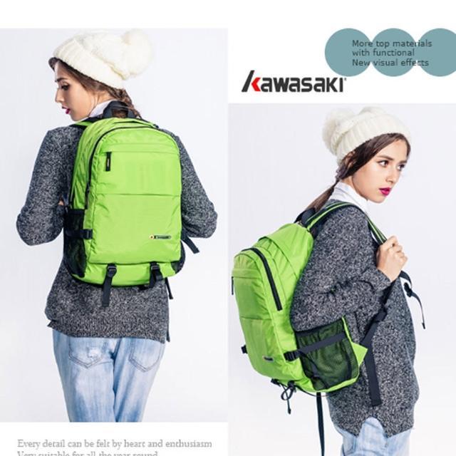 【KAWASAKI超輕優質休閒背包綠】超輕優質休閒背包(綠)