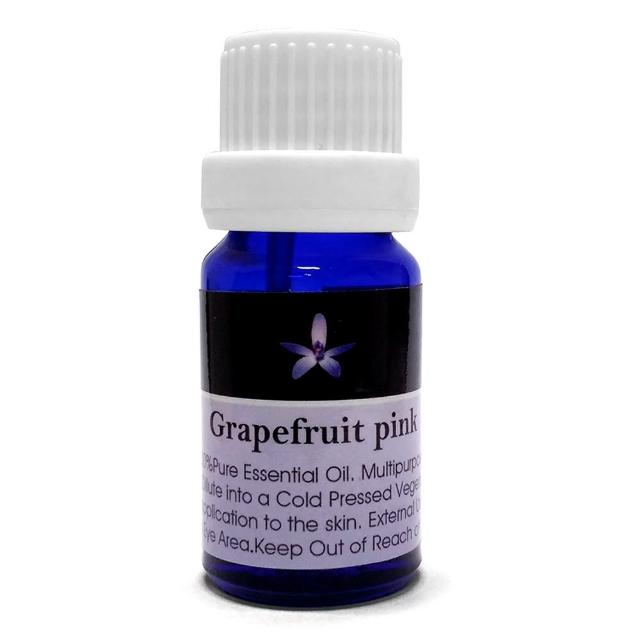 【Body Temple身體殿堂】紅葡萄柚芳療精油10ml(Grapefruit Pink)