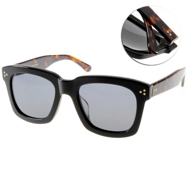 【Go-Getter太陽眼鏡】人氣經典方框款(黑-琥珀#GS1001 BKDE)