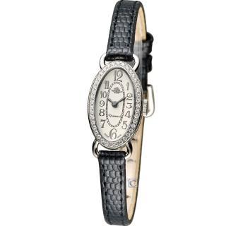 【Rosemont】茶香玫瑰系列時尚錶(TRS42-03-BK)