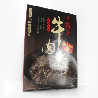【那魯灣】川霸子紅燒牛肉麵5盒(含麵370g/盒)