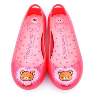 【童鞋城堡】拉拉熊 中童 超輕量防水休閒鞋(KM8219-桃)