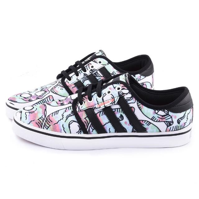 【Adidas】男款 SEELEY 滑板運動鞋(C76936-黑彩)