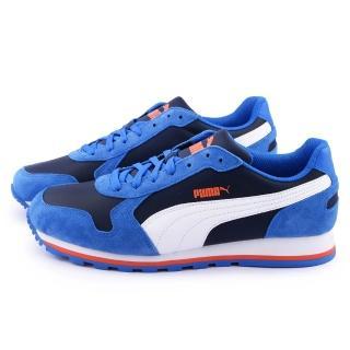 【PUMA】男款Unisex Ayakkabi 復古運動鞋(356737-06-藍)