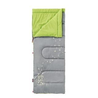 【美國 Coleman】夜光型兒童睡袋/7度C.信封型睡袋(CM-22259 萊姆綠)