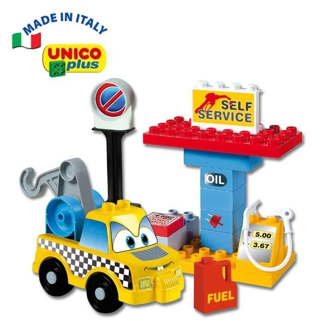【義大利Unico】Cars汽車組(歡樂玩具節)