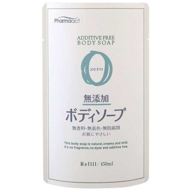 【熊野】無添加沐浴乳補充包-450ml