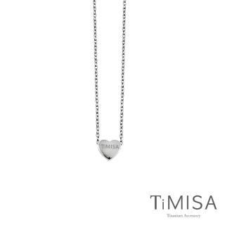 【TiMISA】小愛心 純鈦極細鎖骨項鍊 B