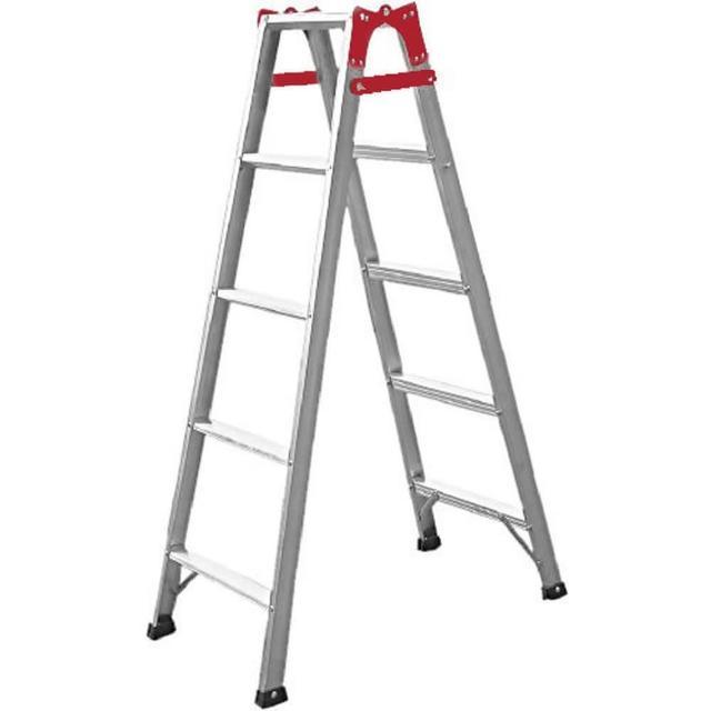【TRENY】5階鋁製直馬工作梯