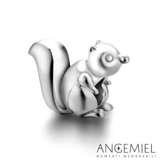 【Angemiel安婕米】925純銀串珠 花栗鼠 串珠