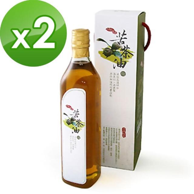 【康健生機】苦茶油x2瓶(520ml/瓶)